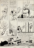 "Original Comic Art:Panel Pages, Gil Kane and Murphy Anderson The Atom #2 ""The Prisoners WhoVanished!"" Page 7 Original Art (DC, 1962)...."