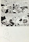 "Original Comic Art:Panel Pages, Sheldon Moldoff and Charles Paris Batman #155 ""Batman'sPsychic Twin"" Page 13 Original Art (DC, 1963)...."
