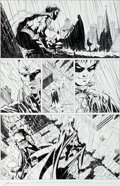 Original Comic Art:Panel Pages, Jim Lee and Scott Williams Batman #618 Page 16 Original Art (DC, 2003)....