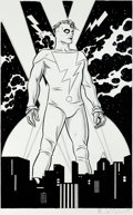 Original Comic Art:Splash Pages, Mike Allred Madman Pin-Up Illustration Original Art (Graphitti Designs, 1994)....