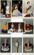 Miscellaneous:Postcards, [Postcards]. Group of Nine Postcards Depicting British Royalty. Ca.1941. In protective sleeves. One used. Very good. . ...