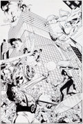 Original Comic Art:Splash Pages, Stuart Immonen, Wade Von Grawbadger, and Scott Hanna FantasticFour #569 Splash Page 1 Original Art (Marvel, 2009)...