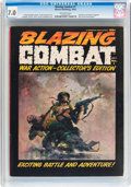 Magazines:Miscellaneous, Blazing Combat #1-4 CGC Group (Warren, 1965-66).... (Total: 4 ComicBooks)