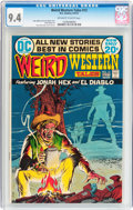 Bronze Age (1970-1979):Western, Weird Western Tales #13 (DC, 1972) CGC NM 9.4 Off-white to white pages....