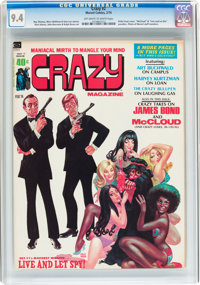 Crazy Magazine #2 (Marvel, 1974) CGC NM 9.4 Off-white to white pages