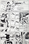 Original Comic Art:Panel Pages, Frank Miller and Klaus Janson Amazing Spider-Man Annual #15Page 18 Original Art (Marvel, 1981)....