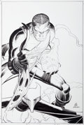 Original Comic Art:Covers, John Romita Jr. and Klaus Janson Amazing Spider-Man #573Cover Original Art (Marvel, 2008)....