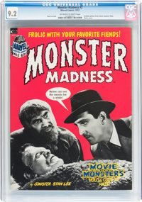 Monster Madness #2 CGC-Graded Group (Marvel, 1973) Off-white to white pages.... (Total: 5 Comic Books)