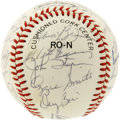 Autographs:Baseballs, 1983 St. Louis Cardinals Team Signed Baseball. A total of 29 fromthe 1983 St. Louis Cardinals have made their signatures a...