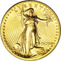 High Relief Double Eagles: , 1907 $20 High Relief, Wire Rim MS63 NGC. An exceptionally well preserved High Relief that has rich, satiny mint luster with...