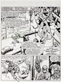 Original Comic Art:Panel Pages, Marie Severin Spider-Man Magazine #14 Original Art Group (Marvel, 2011).... (Total: 5 Original Art)