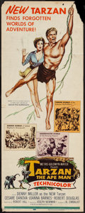 "Movie Posters:Adventure, Tarzan the Ape Man (MGM, 1959). Insert (14"" X 36""). Adventure.. ..."