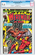 Bronze Age (1970-1979):Horror, Werewolf by Night #42 (Marvel, 1977) CGC NM+ 9.6 Off-white to whitepages....