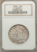 Bust Half Dollars: , 1830 50C Small 0 AU53 NGC. NGC Census: (105/846). PCGS Population(133/808). Mintage: 4,764,800. Numismedia Wsl. Price for ...