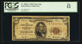 Small Size:Federal Reserve Bank Notes, Fr. 1850-I* $5 1929 Federal Reserve Bank Note. PCGS Fine 12.. ...
