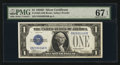 Small Size:Silver Certificates, Fr. 1604 $1 1928D Silver Certificate. PMG Superb Gem Unc 67 EPQ.. ...