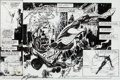 Original Comic Art:Splash Pages, Sal Buscema and Bill Sienkiewicz Spectacular Spider-Man #221Splash Page 13 Original Art (Marvel, 1994)....