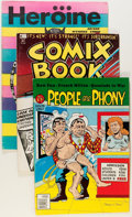 Bronze Age (1970-1979):Alternative/Underground, Underground Comix Magazine Format Group (Various Publishers, 1970s-80s) Condition: Average FN.... (Total: 22 Items)