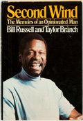 Books:Biography & Memoir, [African American]. Bill Russell and Taylor Branch. Second Wind.The Memoirs of an Opinionated Man. New York: Random...