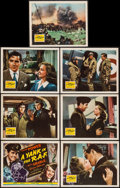 """Movie Posters:War, A Yank in the R.A.F. (20th Century Fox, 1941). Title Lobby Card& Lobby Cards (6) (11"""" X 14""""). War.. ... (Total: 7 Items)"""