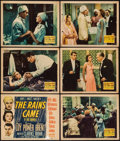 """Movie Posters:Adventure, The Rains Came (20th Century Fox, 1939). Title Lobby Card and Lobby Cards (5) (11"""" X 14""""). Adventure.. ... (Total: 6 Items)"""