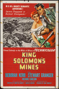 """Movie Posters:Adventure, King Solomon's Mines (MGM, 1950). One Sheet (27"""" X 41"""").Adventure.. ..."""