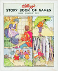 Books:Children's Books, [Children's] [Little Black Sambo]. Kellogg's Story Bookof Games. Featuring Little Black Sambo, Cinder...
