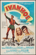 "Movie Posters:Adventure, Ivanhoe (MGM, 1952 & R-1962). One Sheets (2) (27"" X 41"").Adventure.. ... (Total: 2 Items)"