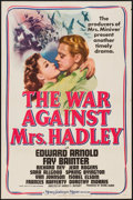 "Movie Posters:Drama, The War Against Mrs. Hadley (MGM, 1942). One Sheet (27"" X 41"").Drama.. ..."