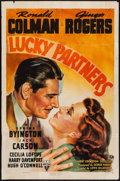 """Movie Posters:Comedy, Lucky Partners (RKO, 1940). One Sheet (27"""" X 41""""). Comedy.. ..."""
