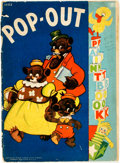 Books:Children's Books, [Children's] [Little Black Sambo]. Pop-Out PaintBook. An unused coloring book with pop out characters o...