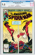 Modern Age (1980-Present):Superhero, The Amazing Spider-Man #233 (Marvel, 1982) CGC NM/MT 9.8 Whitepages....