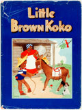 Books:Children's Books, Blanche Seale Hunt. Stories of Little Brown Koko. Chicago:American Colortype Company, [n.d., ca. 1940]. Quarto. 96 ...