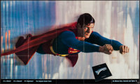 """Superman the Movie (Warner Brothers, 1978). Soundtrack Poster (36"""" X 60""""). Action"""