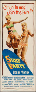 """Movie Posters:Rock and Roll, Surf Party (20th Century Fox, 1964). Insert (14"""" X 36""""). Rock andRoll.. ..."""