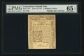 Colonial Notes:Connecticut, Connecticut June 19, 1776 2s/6d PMG Gem Uncirculated 65 EPQ.. ...