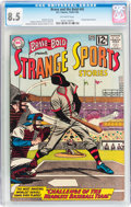 Silver Age (1956-1969):Horror, The Brave and the Bold #45 Strange Sports Stories (DC, 1963) CGCVF+ 8.5 Off-white pages....