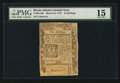 Colonial Notes:Rhode Island, Rhode Island March 18, 1776 10s PMG Choice Fine 15.. ...