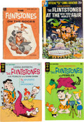 Silver Age (1956-1969):Cartoon Character, The Flintstones Comics Group (Various, 1961-68) Condition:Varies.... (Total: 4 Original Art)