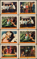 "Movie Posters:Crime, The FBI Story (Warner Brothers, 1959). Lobby Cards (8) (11"" X 14""). Crime.. ... (Total: 8 Items)"
