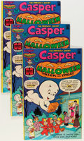 Bronze Age (1970-1979):Cartoon Character, Casper Halloween Trick or Treat #1 File Copy Long Box Group(Harvey, 1976) Condition: Average VF/NM....
