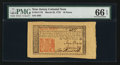 Colonial Notes:New Jersey, New Jersey March 25, 1776 18d PMG Gem Uncirculated 66 EPQ.. ...