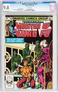 Modern Age (1980-Present):Superhero, Master of Kung Fu #123 (Marvel, 1983) CGC NM/MT 9.8 White pages....