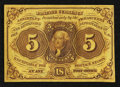 Fractional Currency:First Issue, Fr. 1230 5¢ First Issue About New.. ...