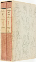 Books:Literature Pre-1900, [Limited Editions Club]. Henry Pitz, illustrator. SIGNED. CharlesDickens. Dombey and Son. New York: Limited Edition...(Total: 2 Items)