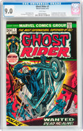 Bronze Age (1970-1979):Horror, Ghost Rider #1 (Marvel, 1973) CGC VF/NM 9.0 White pages....