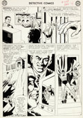 Original Comic Art:Panel Pages, Sheldon Moldoff and Joe Giella Detective Comics #328 Page 4Original Art (DC, 1964)....