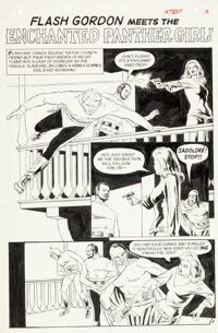 Reed Crandall Flash Gordon #12 Page #16 Original Art (Charlton, 1969)