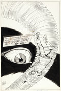 Original Comic Art:Covers, Kurt Schaffenberger Adventures into the Unknown #171 CoverOriginal Art (ACG, 1967)....