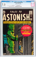 Silver Age (1956-1969):Horror, Tales to Astonish #34 (Marvel, 1962) CGC VF- 7.5 Off-white to whitepages....